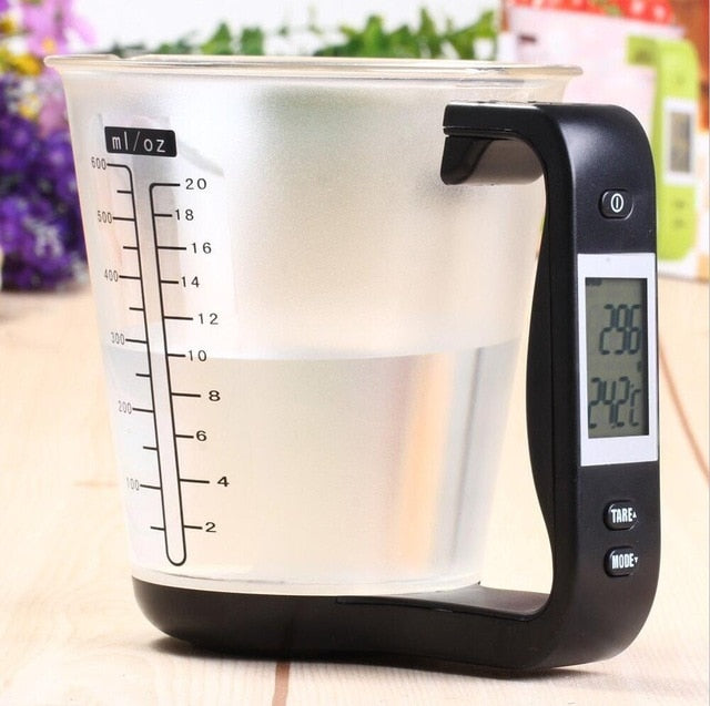Digital Kitchen Scales with LCD Display - Organiza