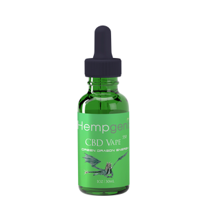 HempGenix-CBD VAPE OIL 550MG GREEN DRAGON - Far Out CBD & Accessories