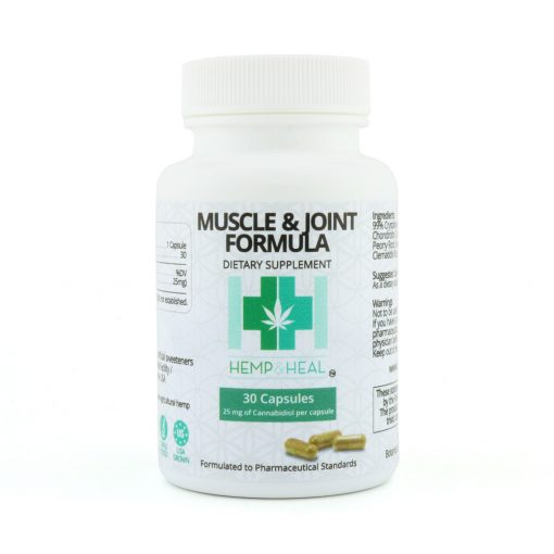 Muscle & Joint Formula Vegan Capsules - Far Out CBD & Accessories