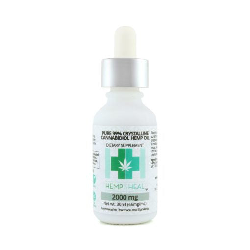 Pure 99% Crystalline Cannabidiol Hemp Oil - Far Out CBD & Accessories