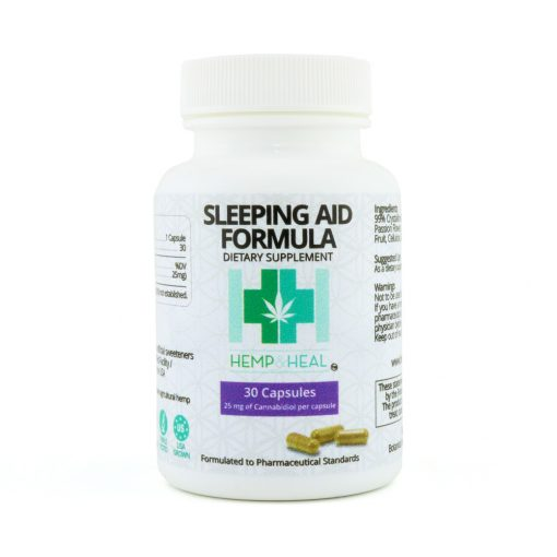 Sleep Support Formula Capsules (Hemp Derived Crystalline Cannabidiol) - Far Out CBD & Accessories