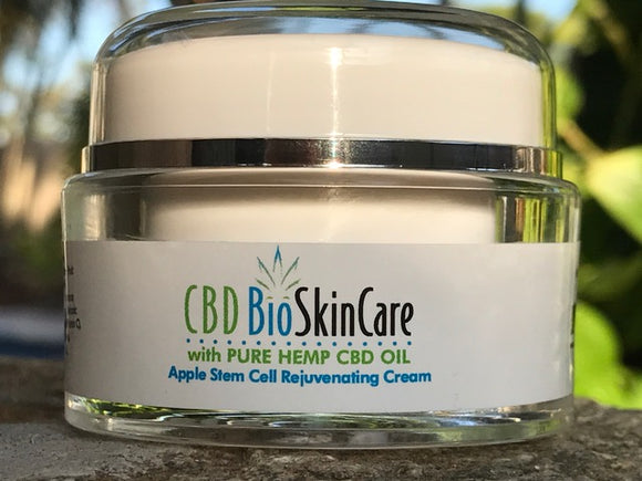 Cbdbiocare Pure Natural CBD Apple Stem Cell Rejuvenation Cream Cbdbiocare