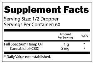 Hemp Oil Extract 300 mg - Far Out CBD & Accessories
