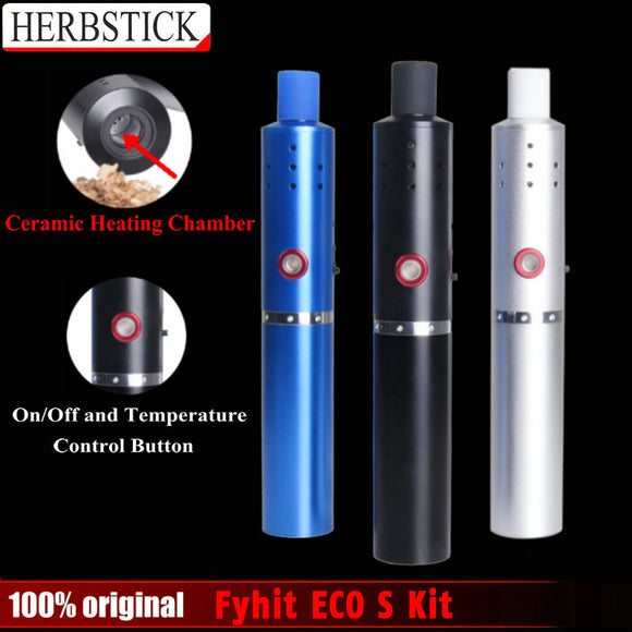 Vapes ECO S Portable Vaporizer Dry Herb Kit E-cig Far Out CBD & Accessories