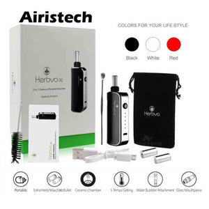 Vapes Airistech 3 in 1 herbal vaporizer dry herb CBD wax Far Out CBD & Accessories