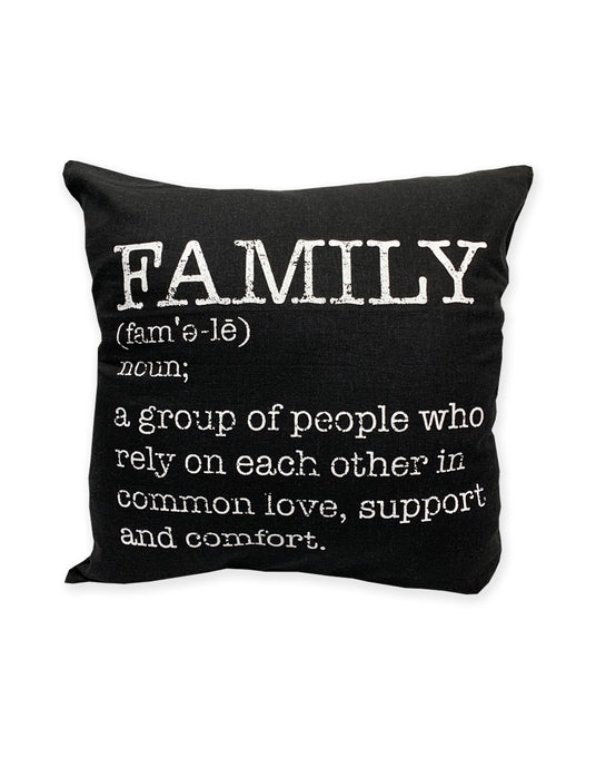 Family Defined Cushion Cover