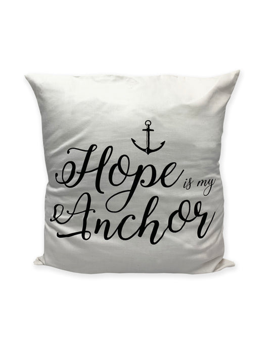 Hope is my Anchor Cushion Cover