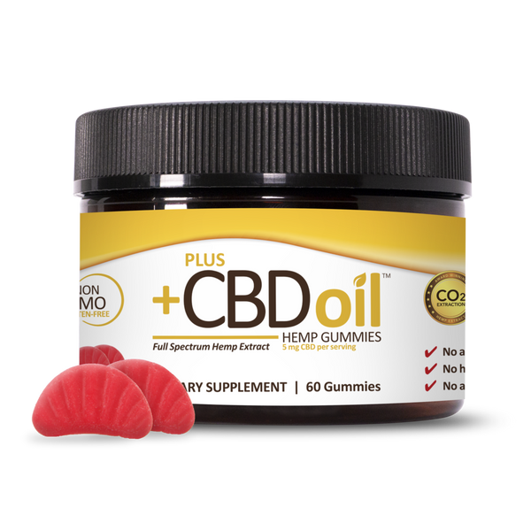 Plus CBD Oil Gummies - 300mg