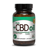 Plus CBD Oil Capsules - 600mg