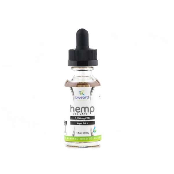 Bluebird Botanicals CBD Vape Oil - 1000mg