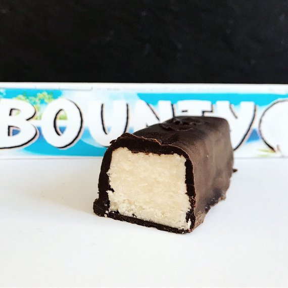 2x Keto Bounty bars, vegan, gluten free low carb chocolate + coconut bar - The Low Carb & Keto Bakery UK