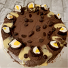1 Slice Creme Egg Low sugar Chocolate Fudge Cake Cake Torte