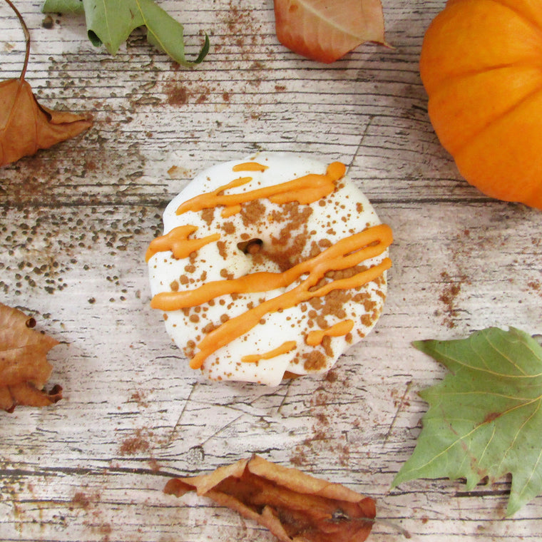 Pumpkin spice keto donut limited edition - The Low Carb & Keto Bakery UK