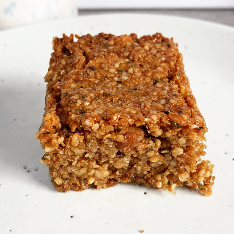 2x Keto Flapjacks muesli bars gluten free - The Low Carb & Keto Bakery UK