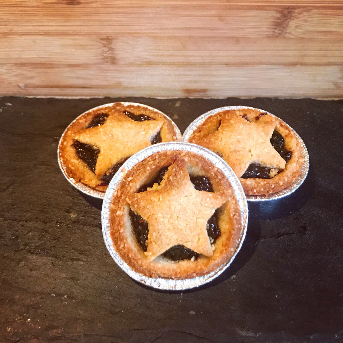 Keto mince pies / low carb Christmas pies 3 pcs - The Low Carb & Keto Bakery UK