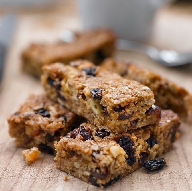 4 x Keto Fruit Flapjacks muesli bars gluten free value pack - The Low Carb & Keto Bakery UK