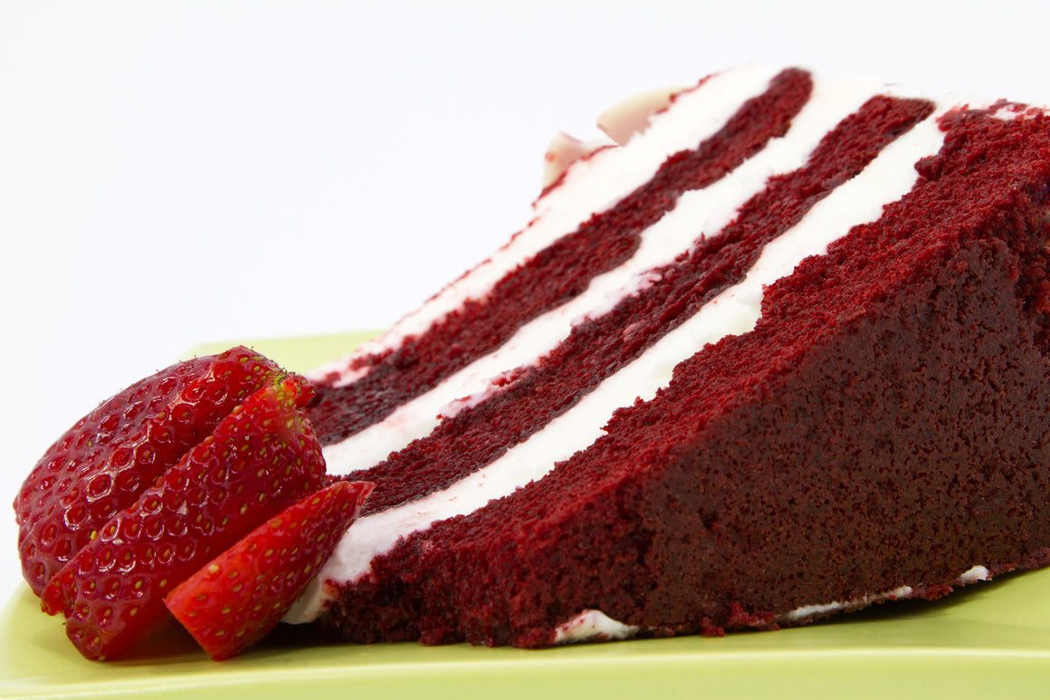 1 Slice - 3 layered Red Velvet Cake      SOLD OUT