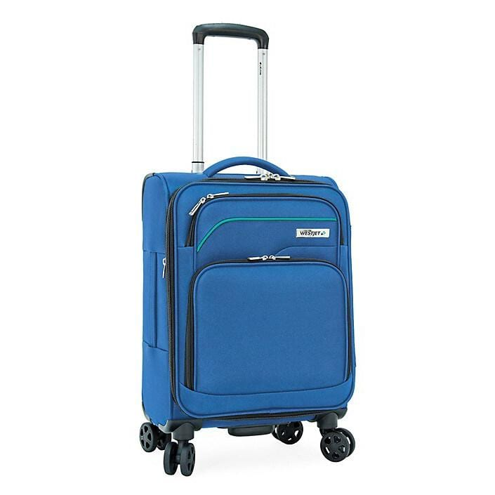 "WestJet Apollo 3 21.5"" Carry-On Spinner Suitcase - Luggage City"