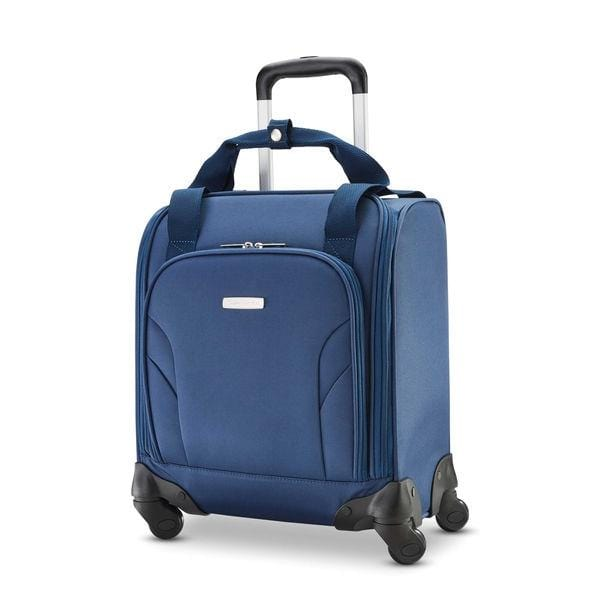 Business & Tech Samsonite Mobile Office Spinner Underseater With Usb Port - Luggage CitySamsonite Blue
