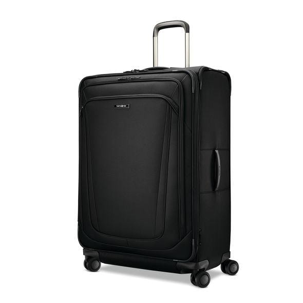 "Luggage > Softside Luggage Samsonite Silhouette 16 30"" Expandable Spinner Large - Luggage CitySamsonite Obsidian Black"