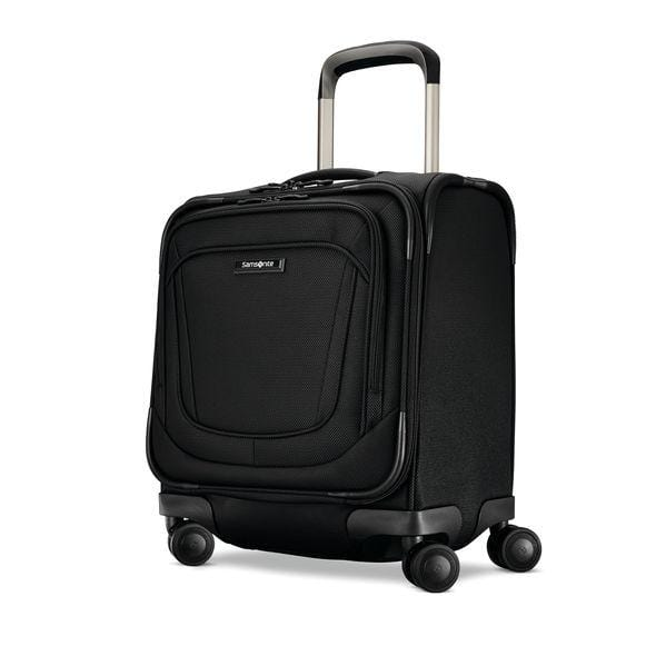 Luggage > Softside Luggage Samsonite Silhouette 16 Spinner Underseater - Luggage CitySamsonite Obsidian Black