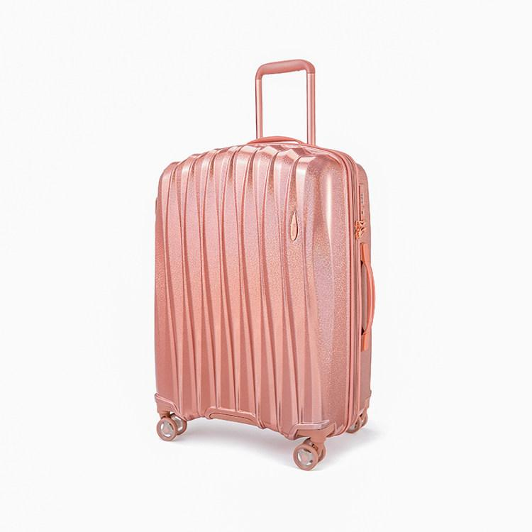 Luggage > Softside Luggage Verage Glitter 3 Pcs Wheel Spiner Set - Luggage CityVerage