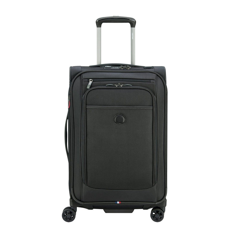 Delsey Pilot 4.0 19 Inch Carry-On Spinner Luggage - Luggage CityDelsey Black