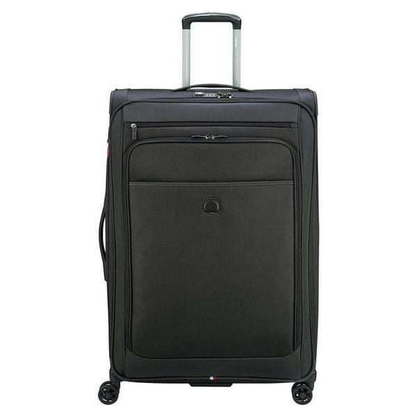 Delsey Pilot 4.0 29 Inch Expandable Spinner Suiter Luggage - Luggage CityDelsey Black