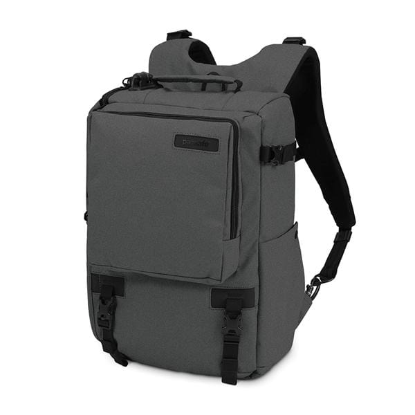 Pacsafe Camsafe Z16 anti-theft camera and 13 inch laptop backpack