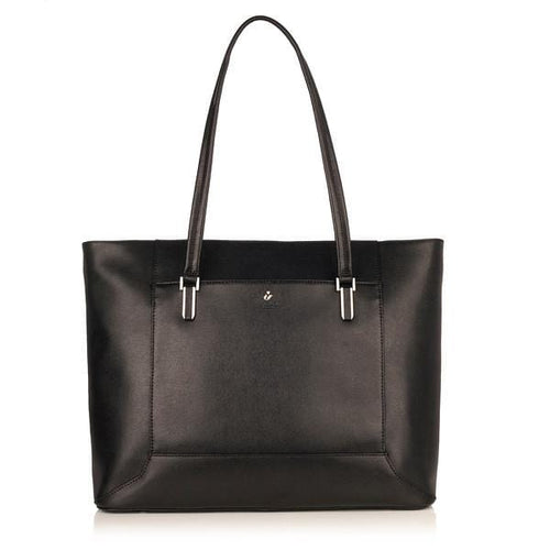 Knomo Picton 15in Leather Topzip Tote