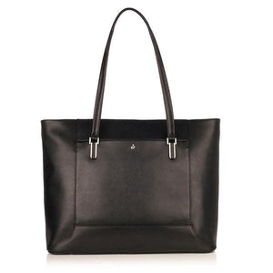 Knomo Picton 15In Leather Topzip Tote - Luggage City