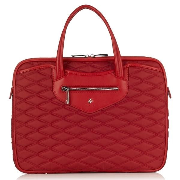 Business & Tech > Briefcase Charlotte 14In Slim Laptop Briefcase - Luggage CityKnomo
