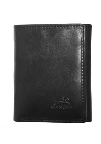 Mancini Men's RFID Secure Trifold Wallet