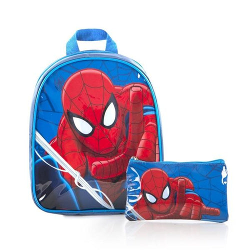 Heys Marvel Econo Junior Backpack & Pencil Case-Spiderman