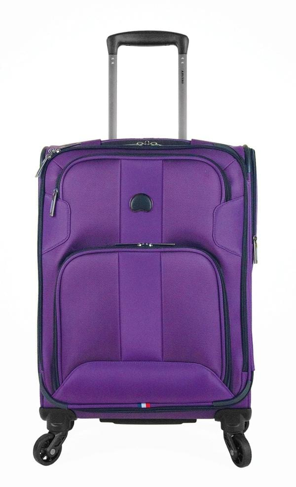 Delsey Volume Max 19 Inch Carry-On Spinner Luggage - Luggage CityDelsey Purple