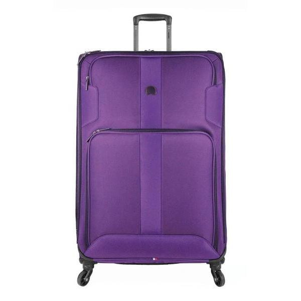 Delsey Volume Max 29 Inch Expandable Spinner Trolley - Luggage CityDelsey Purple