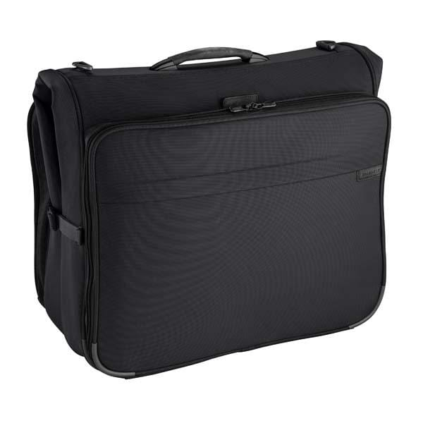 Luggage > Garment Bags Briggs & Riley Base Deluxe Garment Bag - Luggage CityBriggs & Riley Black