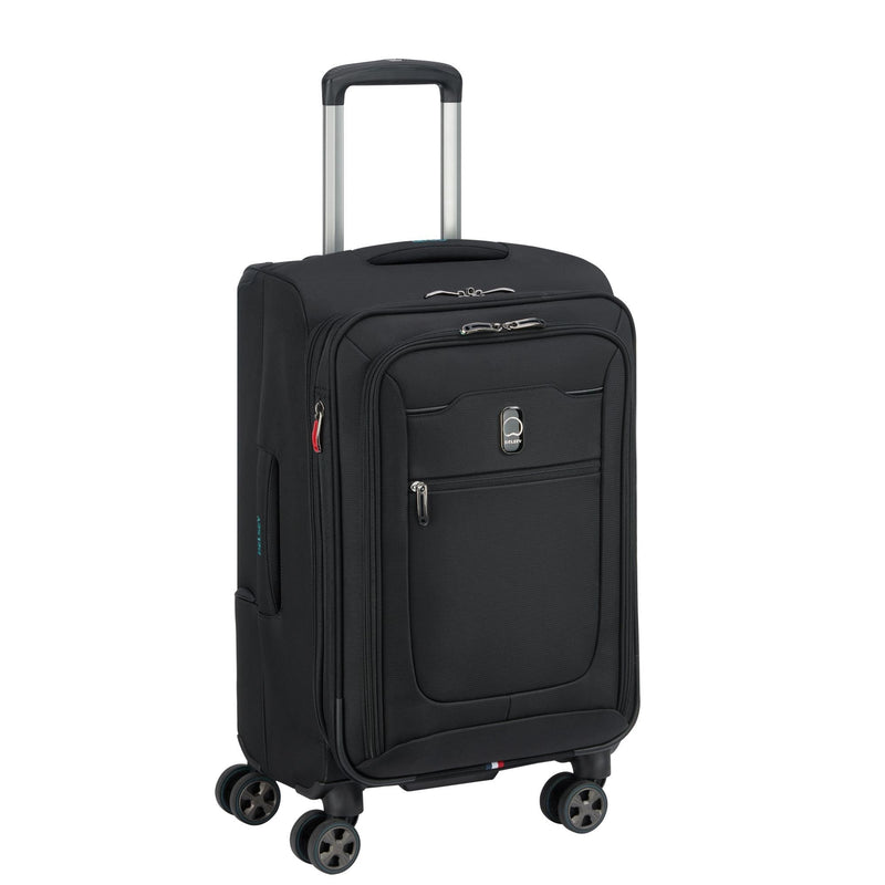 "Luggage > Softside Luggage Delsey Hyperglide 19"" Expandable Carry-On Spinner - Luggage CityDelsey"