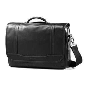 Samsonite 15.6In Columbian Leather Flapover - Luggage City