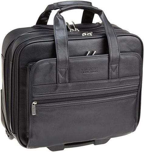 Kenneth Cole Manhattan Double Gusset 15.4in Laptop Wheeled Briefcase