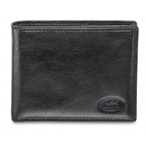 Brand Mancini Equestrian-2 Men's RFID Secure Billfold with Removable Passcase - Luggage CityMancini Black