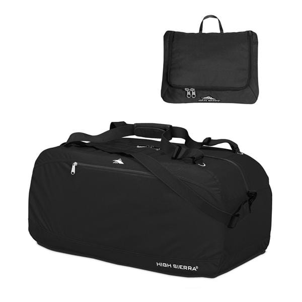 Brand > High Sierra High Sierra 30In Pack-N-Go Duffel - Luggage CitySamsonite Black