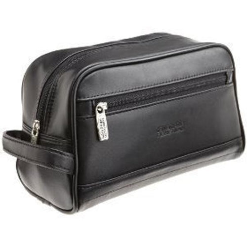 Manhattan Leather Travel Kit - Top Zip