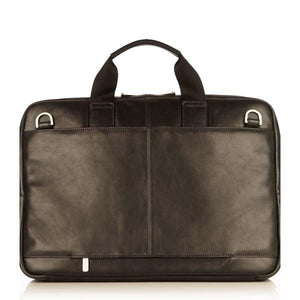 Knomo Newbury 15In Leather Zip Briefcase - Luggage City