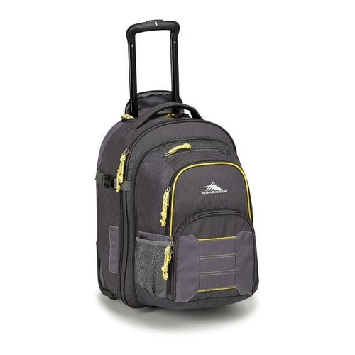 High Sierra Ultimate Access 2.0 Carry-On Wheeled Backpack with Removable Daypack