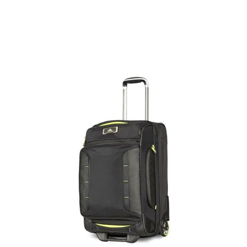 High Sierra AT8 Carry-On Wheeled Duffle Upright