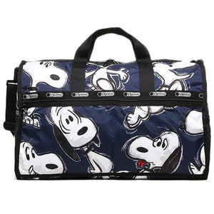 Lesportsac Large Weekender (Big Snoopy) - Luggage City