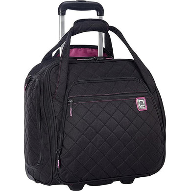 Delsey Quilted Rolling 15