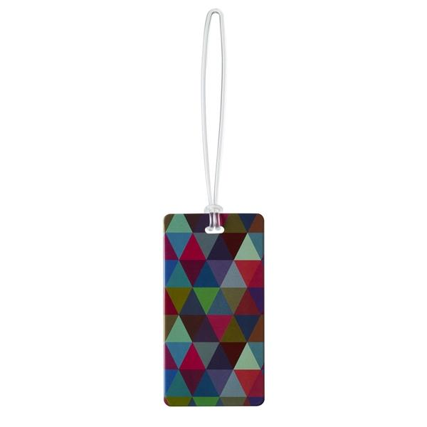 Lewis N Clark Luggage Tag Geometric