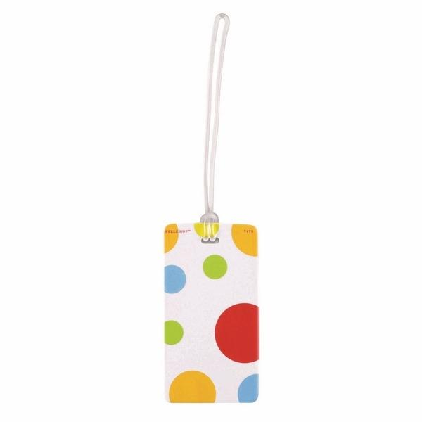 Lewis N Clark Polka Dot Fashion Luggage Tag - Luggage City
